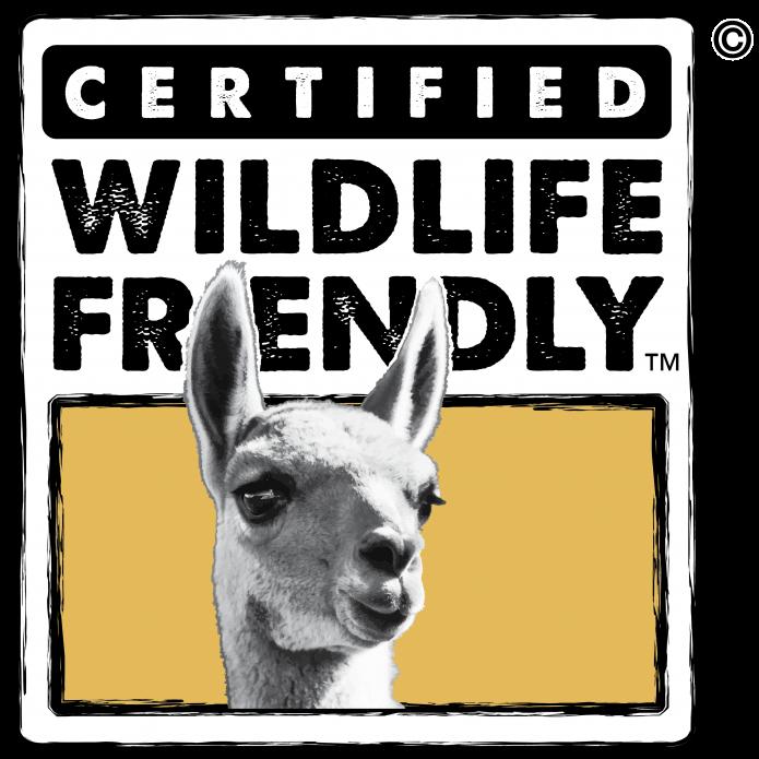 Certified Wildlife Friendly - Guanaco Logo